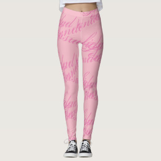sensualidad andando Gamaschen Rosa, rosa Leggings