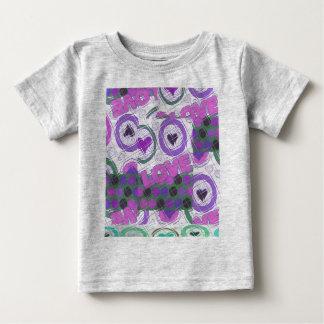 Sentimental Gefühl des reizenden herzlich Herzens Baby T-shirt