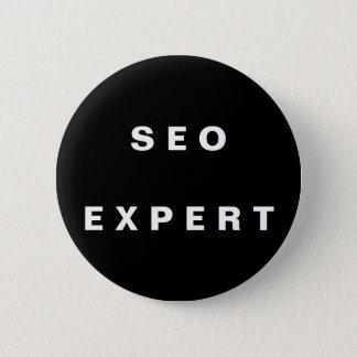 SEO Experte Runder Button 5,7 Cm