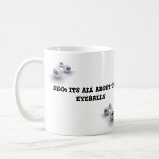 seo eyballs kaffeetasse