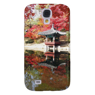Seoul-Herbst-Japaner-Garten Galaxy S4 Hülle