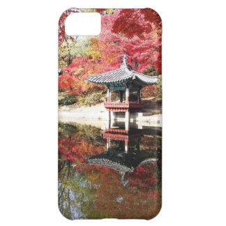 Seoul-Herbst-Japaner-Garten iPhone 5C Schale