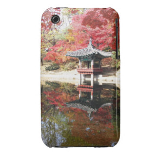 Seoul-Herbst-Japaner-Garten Case-Mate iPhone 3 Hülle