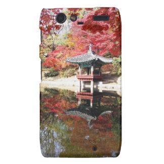 Seoul-Herbst-Japaner-Garten Motorola Droid RAZR Hülle