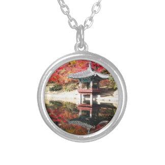 Seoul-Herbst-Japaner-Garten Personalisierte Halskette