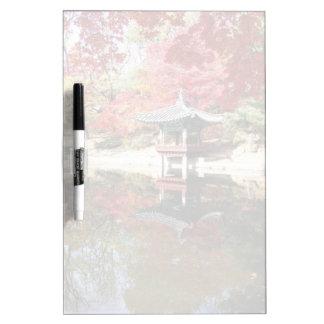 Seoul-Herbst-Japaner-Garten Memoboard