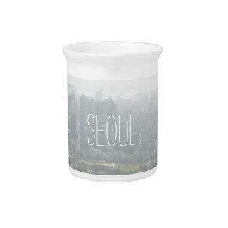 Seoul-Liebe-Verschlüsse Krug