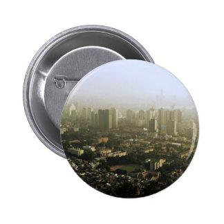 Seoul vom oben genannten städtischen Foto Runder Button 5,1 Cm