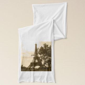 Sepia-Eiffelturm Schal