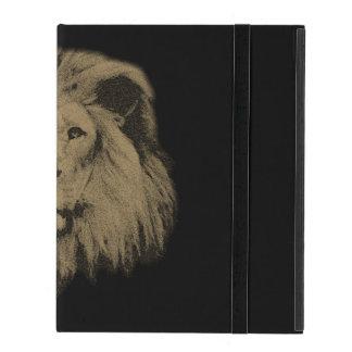 Sepia-Löwe Etui Fürs iPad