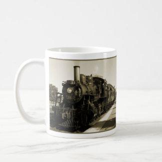 Sepia-Motor Kaffeetasse