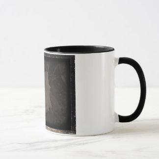 Sepia-Rosen-Tasse Tasse