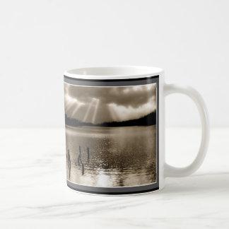 Sepia Sunbeams Kaffeetasse