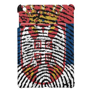 Serbian-Touch-Fingerabdruckflagge iPad Mini Hülle