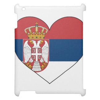 Serbien-Flagge einfach Hüllen Für iPad