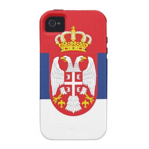 SERBIEN Case-Mate iPhone 4 HÜLLE