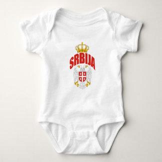 Serbien-Latein Baby Strampler