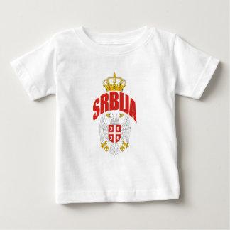 Serbien-Latein Baby T-shirt