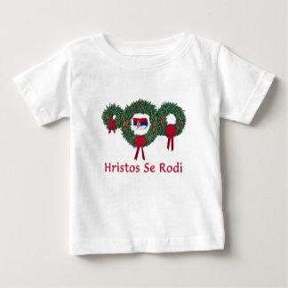 Serbien-Weihnachten 2 Baby T-shirt