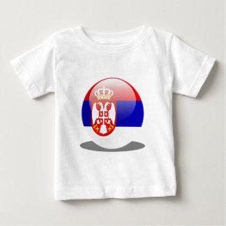 Serbische Flagge Baby T-shirt