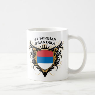 Serbische Großmutter der Nr.-eine Kaffeetasse