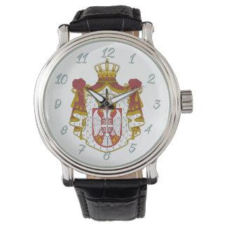 Serbische Mantelarme Uhr