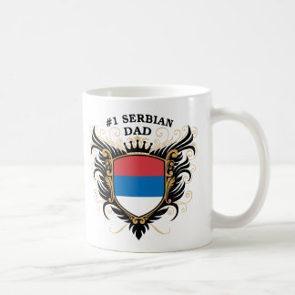 Serbischer Vati der Nr.-eine Kaffeetasse