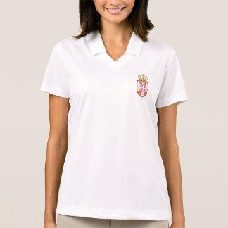 Serbisches Wappen Polo Shirt