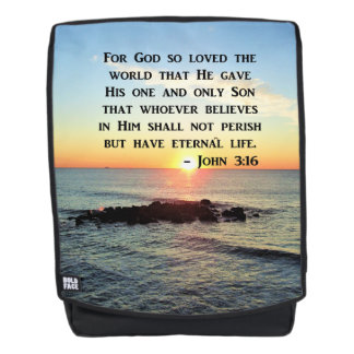 SERENE SONNENAUFGANG-FOTO-JOHN-3:16 RUCKSACK