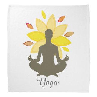 Serene Yoga-Lotos-Pose Halstuch