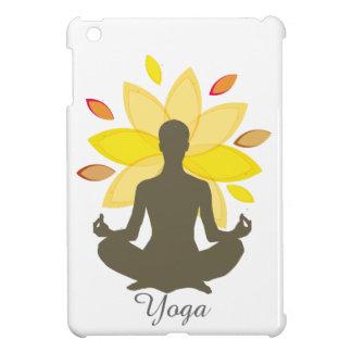 Serene Yoga-Lotos-Pose iPad Mini Hülle