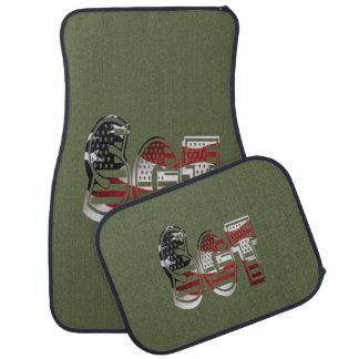 Sergeant USA-Militärarmee-Grün amerikanisches SGT Automatte