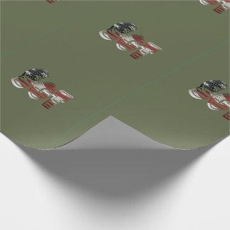 Sergeant USA-Militärarmee-Grün amerikanisches SGT Geschenkpapier