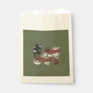 Sergeant USA-Militärarmee-Grün amerikanisches SGT Geschenktütchen