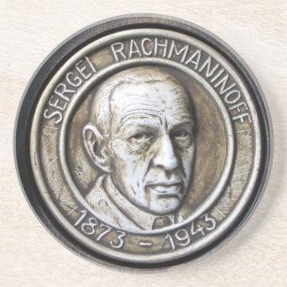 Sergei Vasilievich Rachmaninoff Sandstein Untersetzer