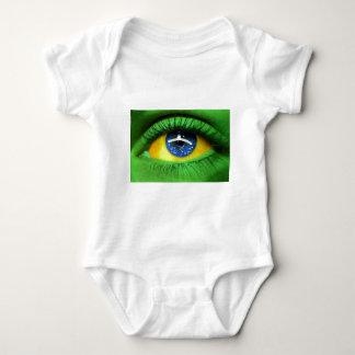 Serie Brasilien Baby Strampler