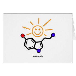 Serotonin-Sonnenschein-Karte