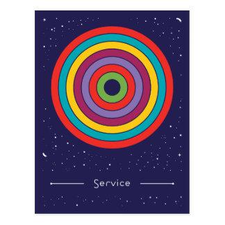 Service Postkarte