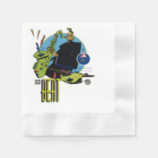 Serviette Beat- Zeichner