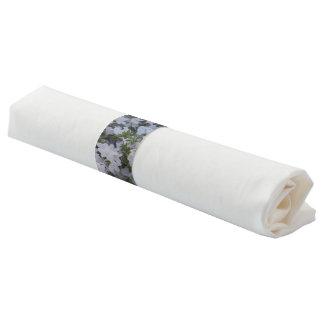 Servietten-Bänder - weiße Azaleen Serviettenband