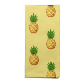 Servietten-Set-Tropische Ananas Stoffserviette