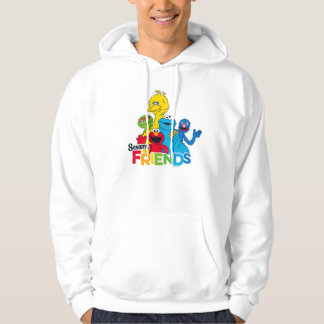Sesam-Freunde des Sesame Street-| Hoodie