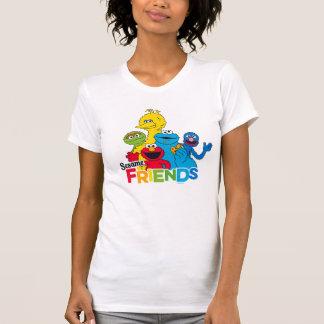 Sesam-Freunde des Sesame Street-| T-Shirt