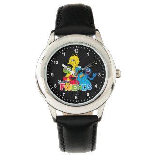 Sesam-Freunde des Sesame Street-| Uhr