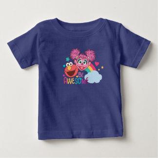 Sesam-Straße   Elmo u. Abby - seien Sie Baby T-shirt