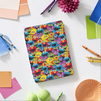 Sesam-Straßen-Crew-Muster iPad Air Cover
