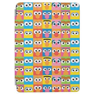 Sesame Street-Charakter-Augendiagramm iPad Air Cover