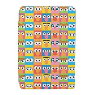 Sesame Street-Charakter-Augendiagramm iPad Mini Hülle