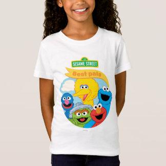 Sesame Street-Charakter-Kunst T-Shirt