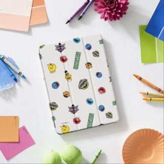 Sesame Street-Charakter-Muster iPad Air Cover